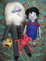 Needle Felted Simon and Marcy - Cat's FeltLings by CatsFeltLings