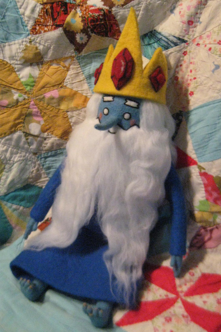 My Needle Felted Ice King By CatsFeltLings by CatsFeltLings