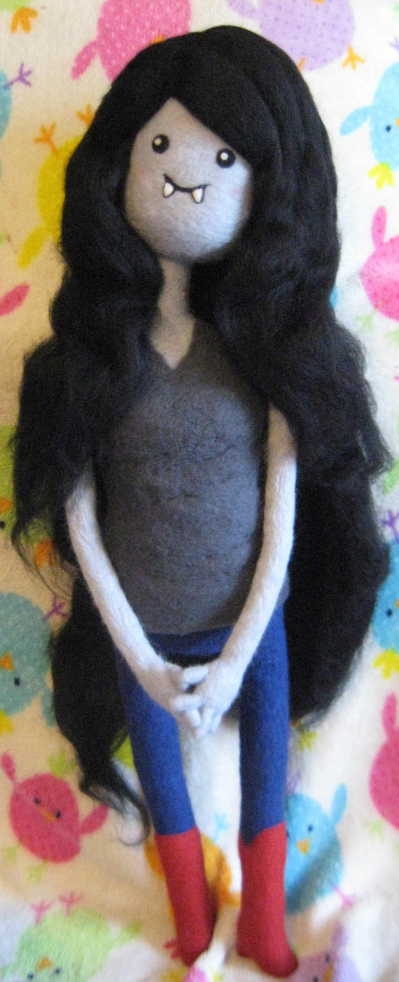 My Needle Felted Marceline by CatsFeltLings
