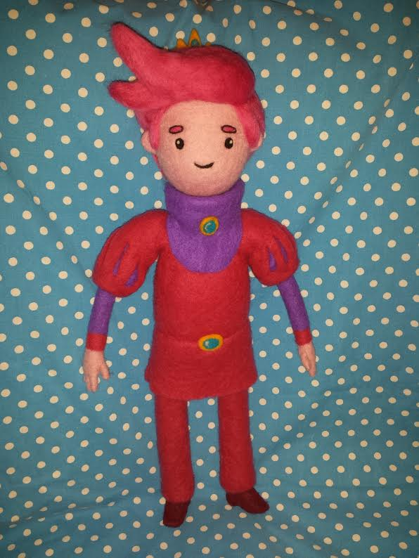 My Needle Felted Prince Gumball by CatsFeltLings