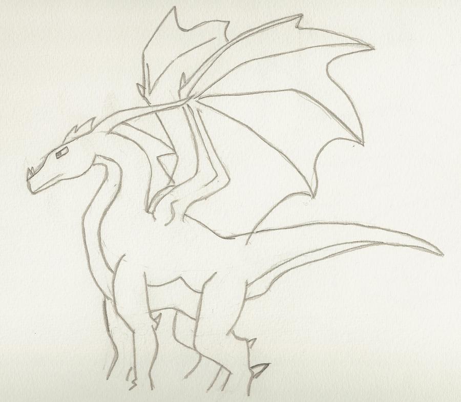 Basic Dragon by AbyssinalPhantom