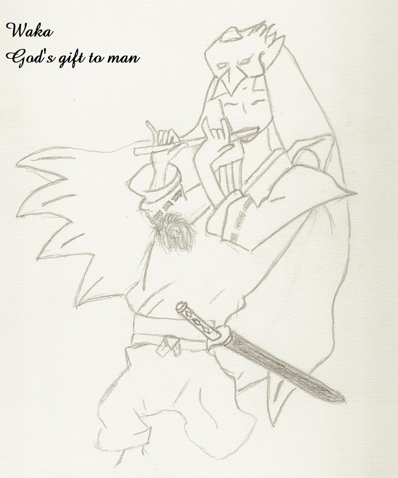 God's Gift to Man by AbyssinalPhantom
