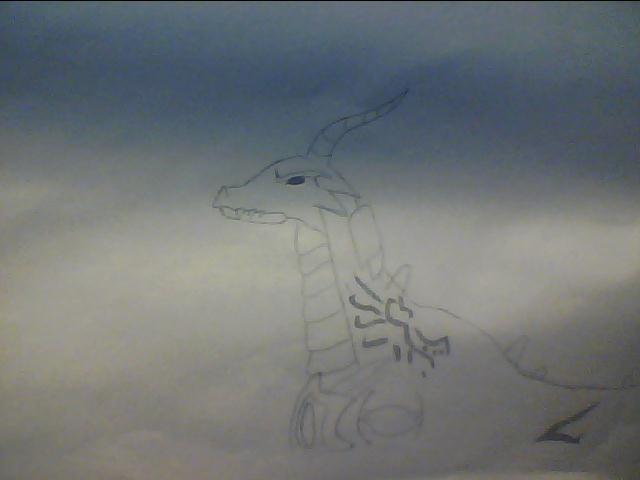 Older Dragon by AbyssinalPhantom