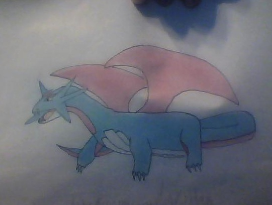 Colored Salamence by AbyssinalPhantom