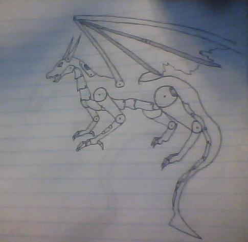 Robo Dragon Anyone by AbyssinalPhantom