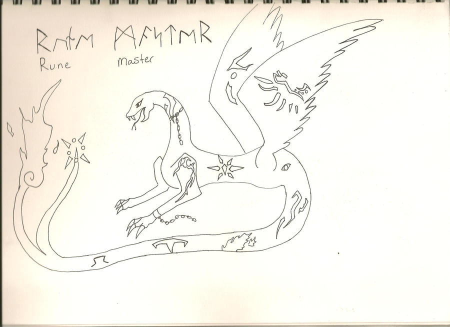 Rune Master by AbyssinalPhantom