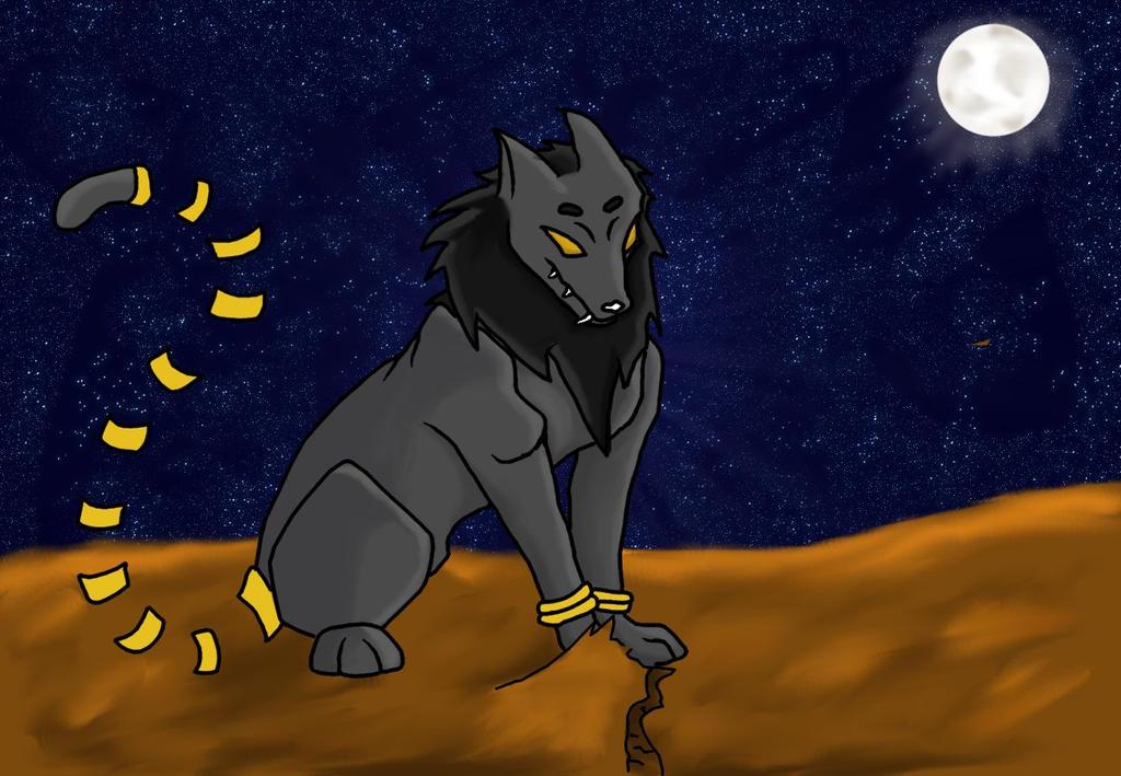 Koya in the Moonlight by AbyssinalPhantom