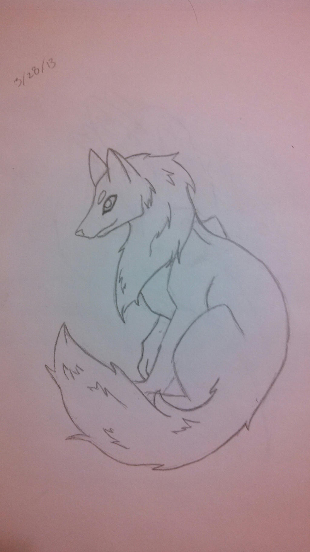 Wolf by AbyssinalPhantom