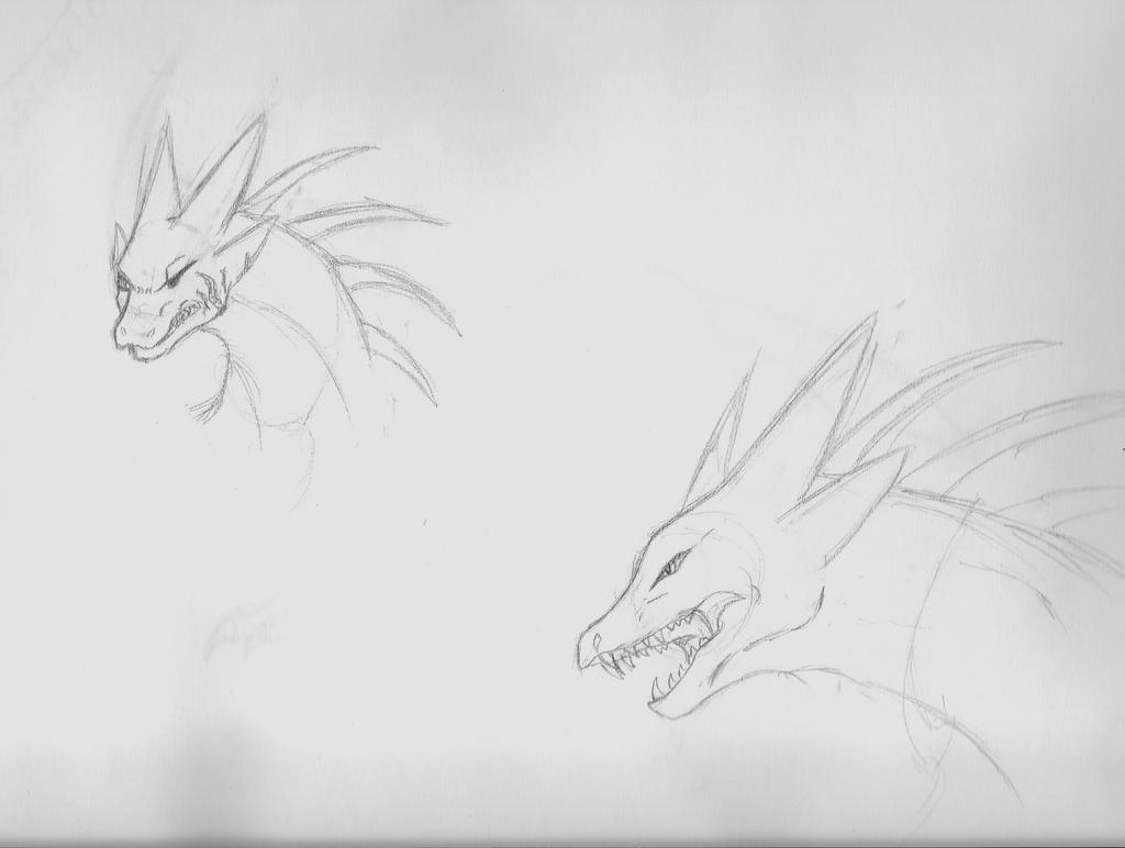 Koga Sketches by AbyssinalPhantom
