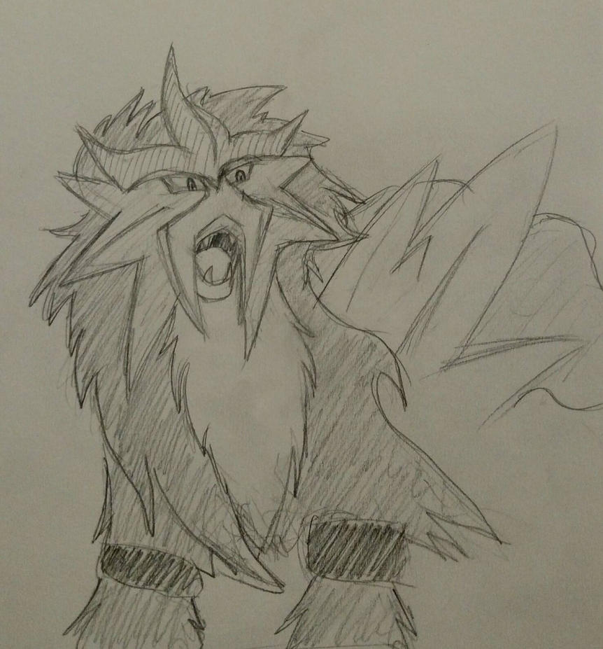 Entei by AbyssinalPhantom