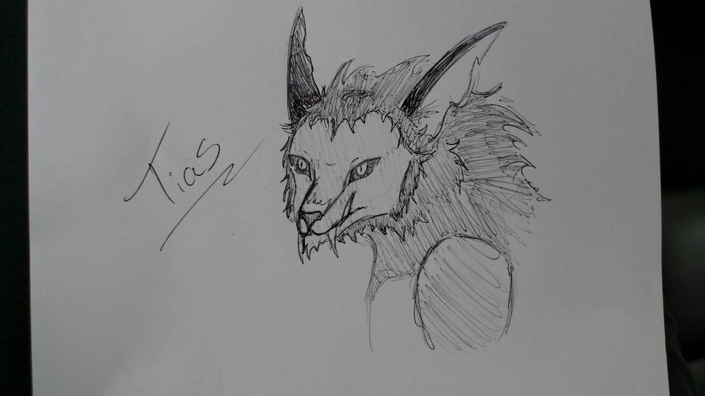 Sketchy Sketch by AbyssinalPhantom