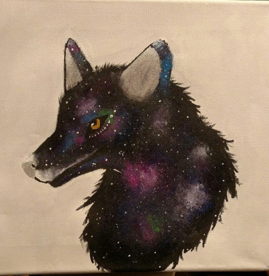 Space Wolf by AbyssinalPhantom