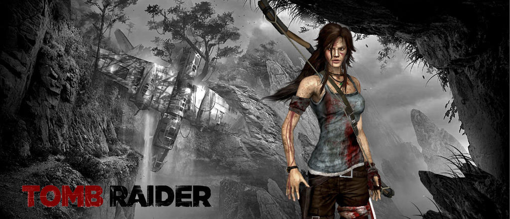 Tomb Raider 2013 Wallpaper 2 by RockinRoadstarTomb Raider 2 Wallpaper