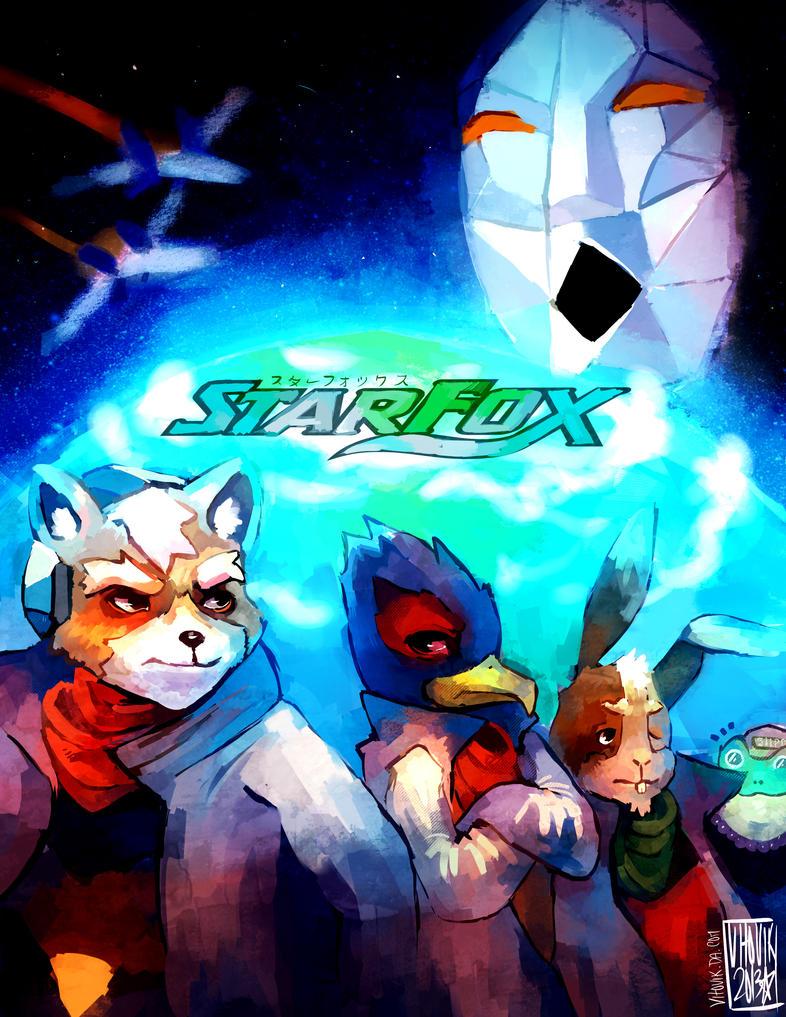 StarFox-SNES by VEKTTOR