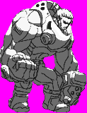 CvS Sprite Attempt: Potemkin from Guilty Gear by markligeralde