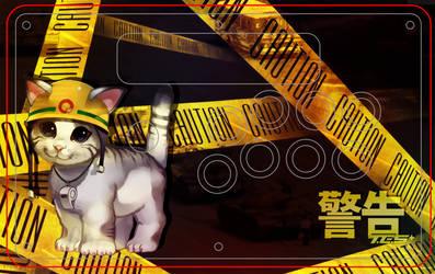 Caution Cat of Tiananmen [MADCATZ TES+]