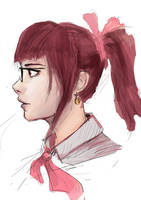 Profile view study by RCSR-art