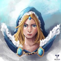 Crystal Maiden by RCSR-art