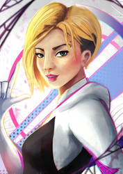Spider Gwen by RCSR-art