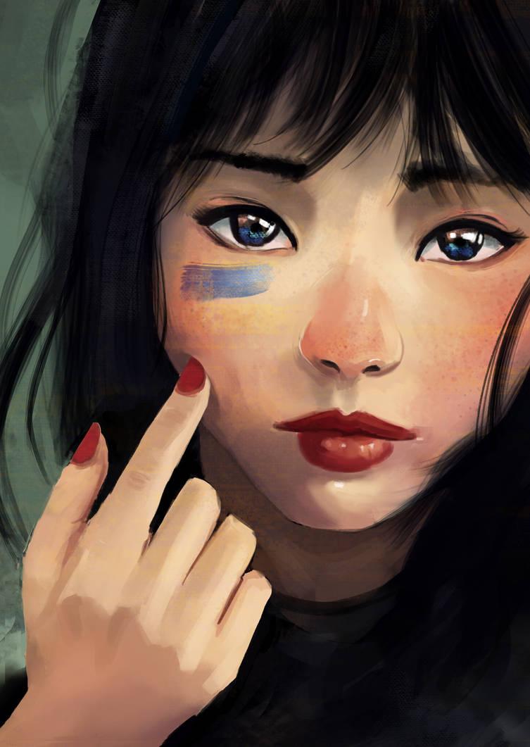 Face study by RCSR-art
