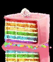 It is delicious cake by nekophoenix