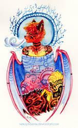 Dragon Breath by nekophoenix