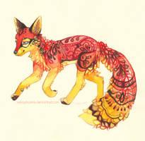 KitsunePhoenix Revisited by nekophoenix
