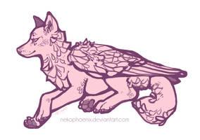 Wolf Wings by nekophoenix