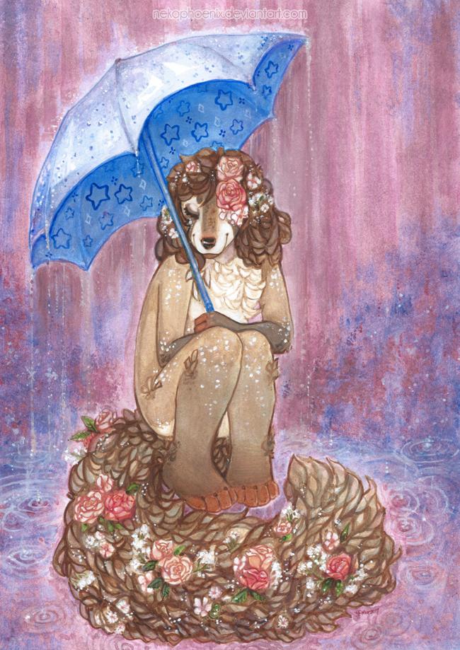 November Rain by nekophoenix