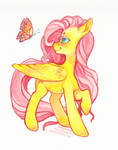 Flutter Butter by nekophoenix