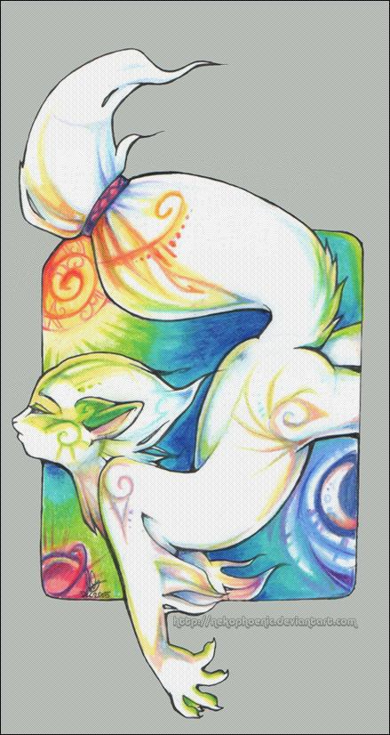 I dream in colour by nekophoenix