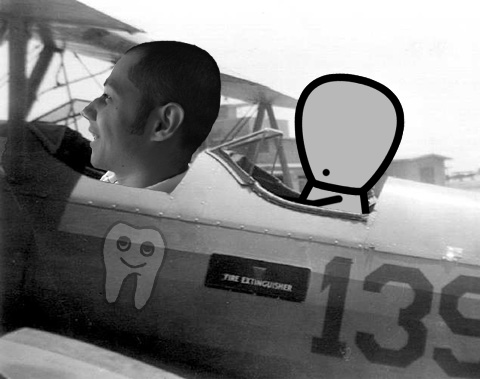 Me flying in my dreams by flycharlles