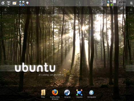 Kubuntu screenshot