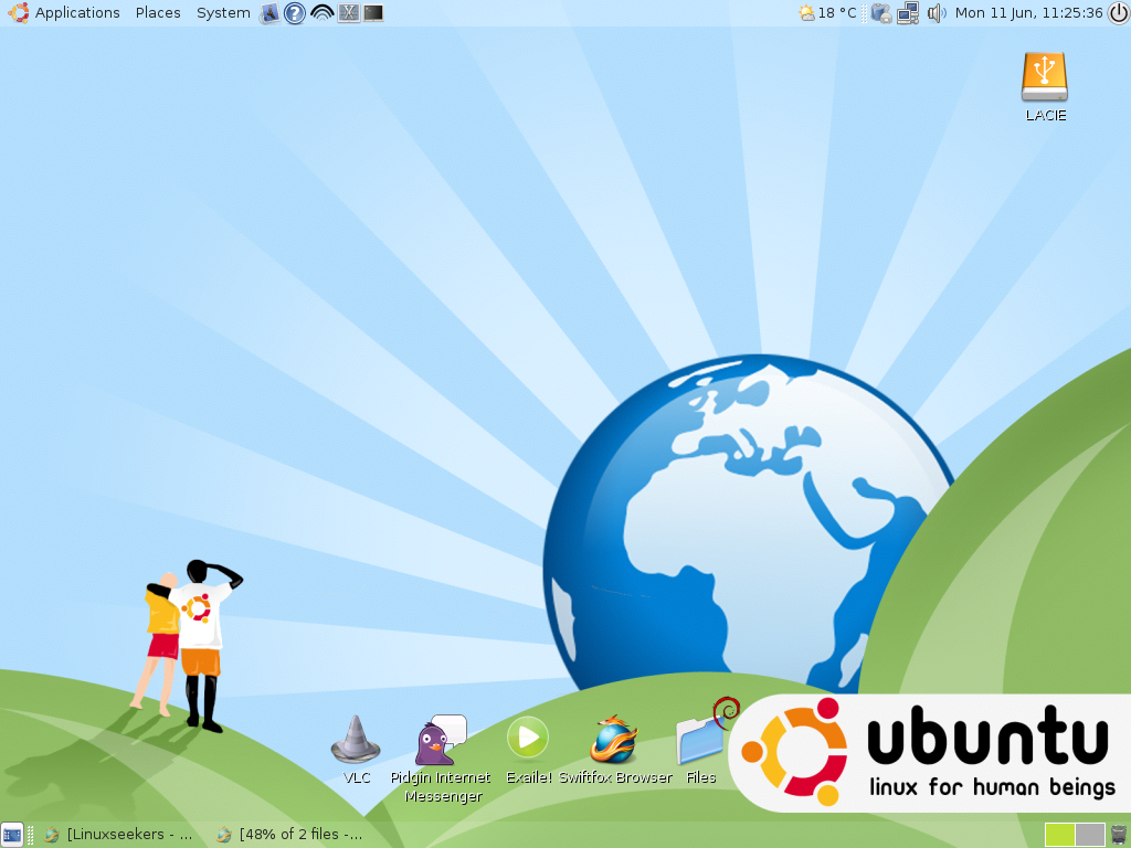 Ubuntu on my horizon by flycharlles