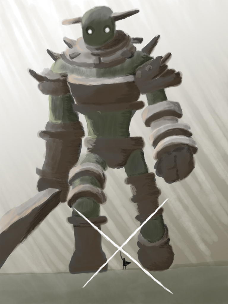 Shadow of the Colossus: Gaius by Grantake on deviantART