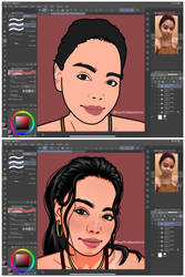 Cartoon Art Style (WIP)