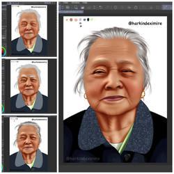 My Grandmother (WIP shots)