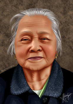My Grandmother (Realism style)