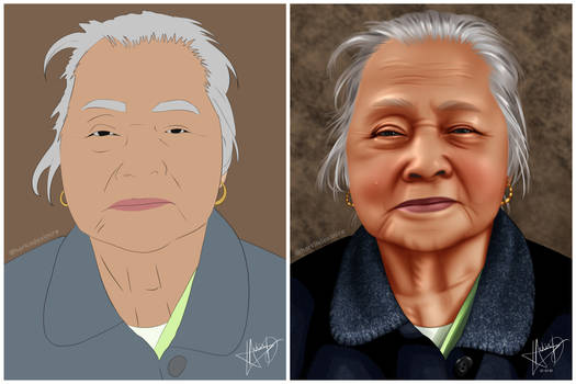 Before and After (Realism style)