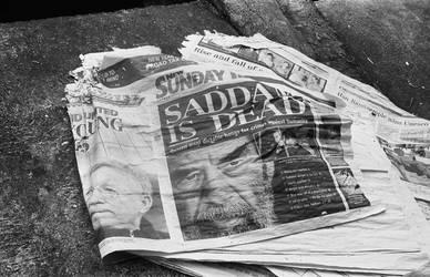 Saddam is dead