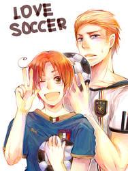 Tegaki FIFA- Love soccer by miimiiakatsuki