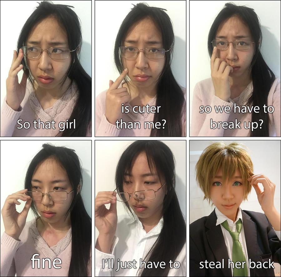 Cosplay meme by miimiiakatsuki