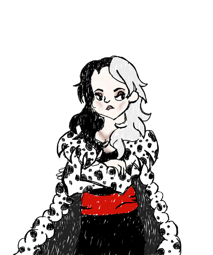 Young Cruella De Vil by PodZGaming