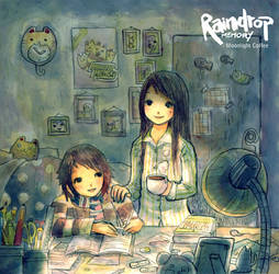Moonlight Coffee by Raindropmemory