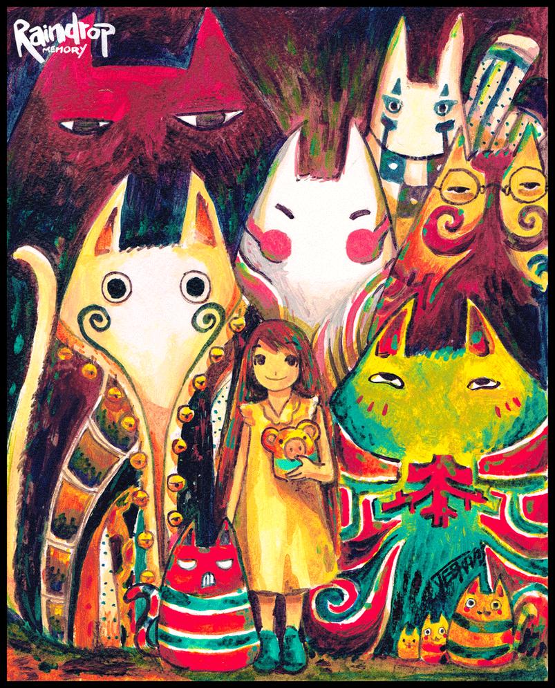 Wunderkatzen - Mu by Raindropmemory