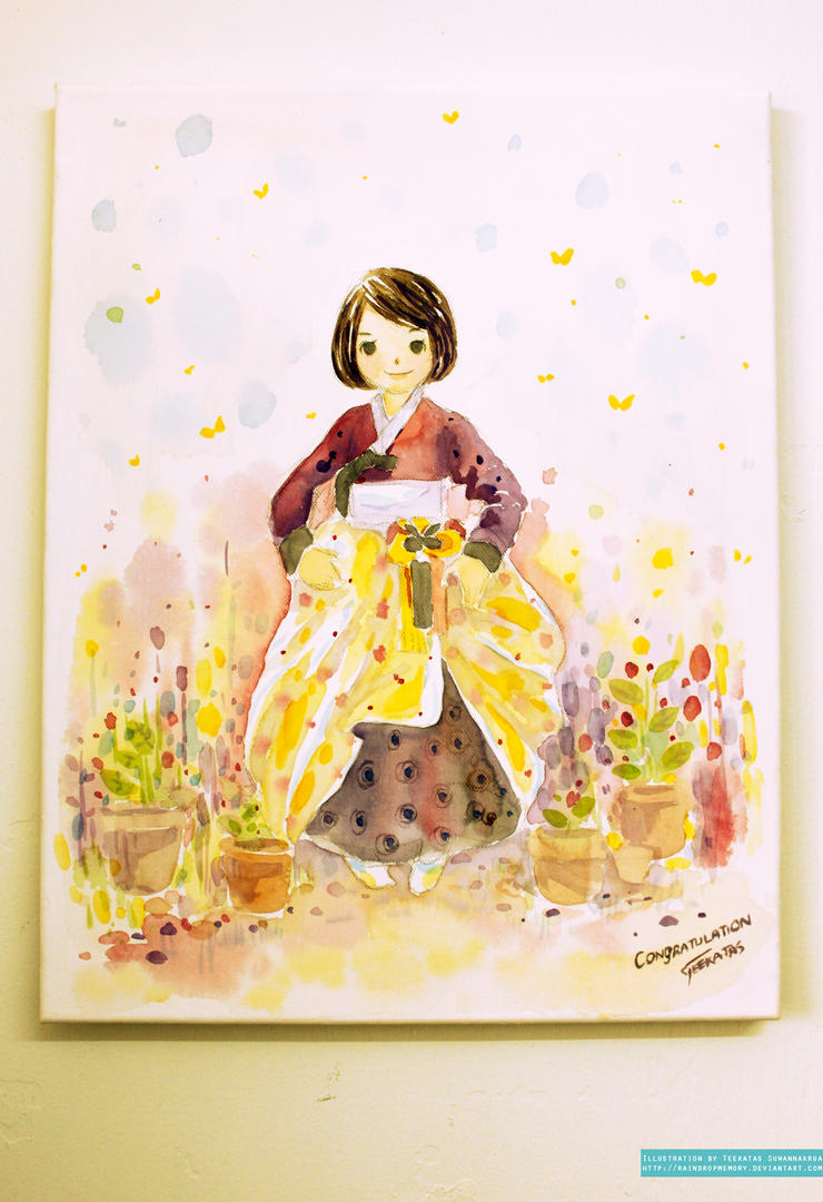Cheerfully Yours Hanbok Girl By Raindropmemory On Deviantart