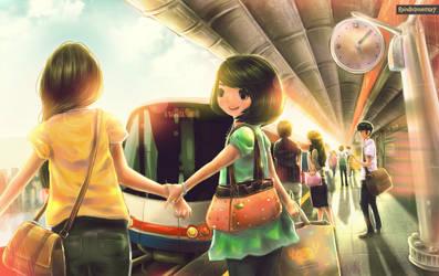 Skytrain to Joyous Mind Station by Raindropmemory