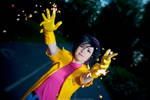 Marvel: My name's Jubilee. I blow stuff up!