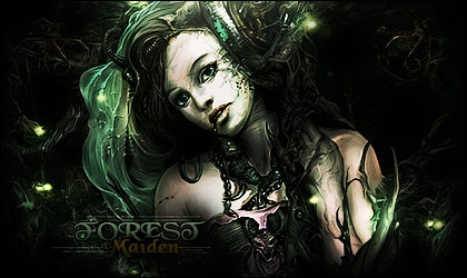 Forest Maiden by Xpade