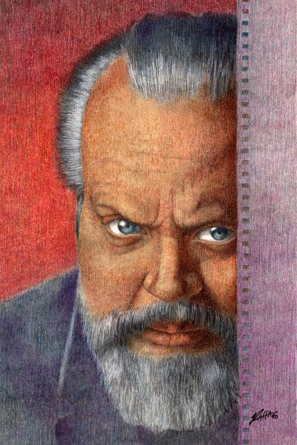 Orson Welles by SRaffa